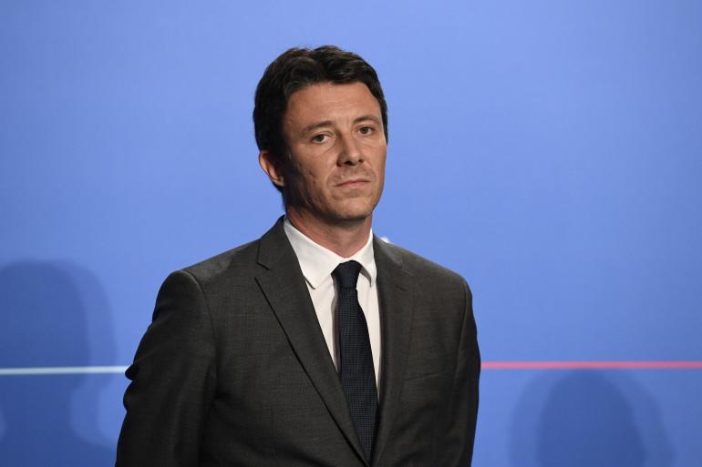 Benjamin Griveaux, le porte-parole du gouvernement, à Paris le 18 juillet 2018