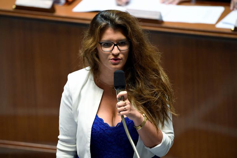 Marlène Schiappa à l'Assemblée nationale le 24 juillet 2018.