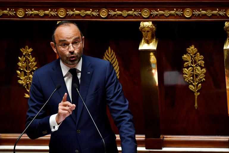 Édouard Philippe a répondu aux députés qui ont déposé deux motions de censure contre son gouvernement, mardi 31 juillet.
