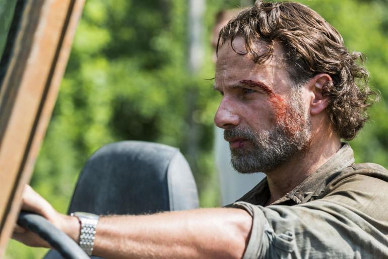 """Andrew Lincoln incarne Rick Grimes depuis 9 saisons dans """"The Walking Dead"""""""
