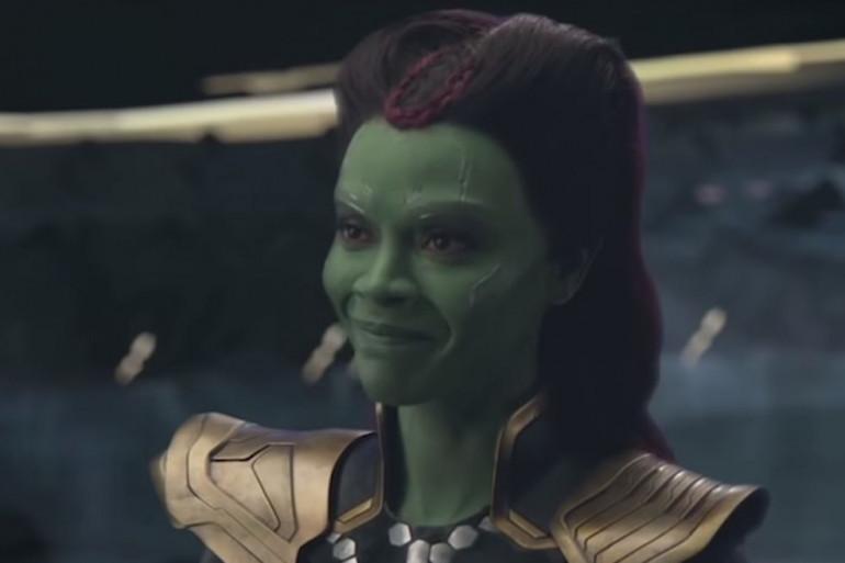 """La jeune Gamora dans la scène coupée d'""""Avengers : Infinity War"""""""