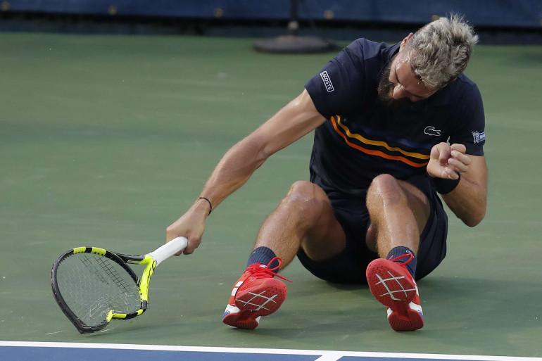 Benoît Paire au tournoi ATP de Washington