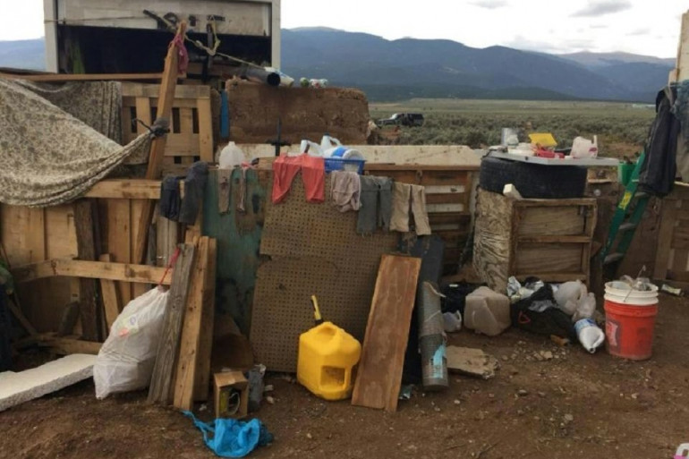 Les enfants, libérés le 3 août, étaient retenus dans un campement à Amalia, au Nouveau-Mexique.