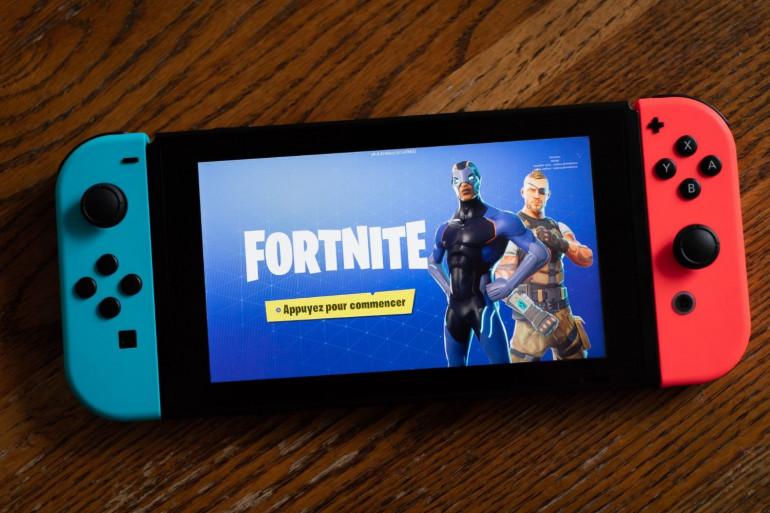 """Le jeu vidéo """"Fortnite"""" est disponible sur Nintendo Switch depuis le 12 juin 2018"""