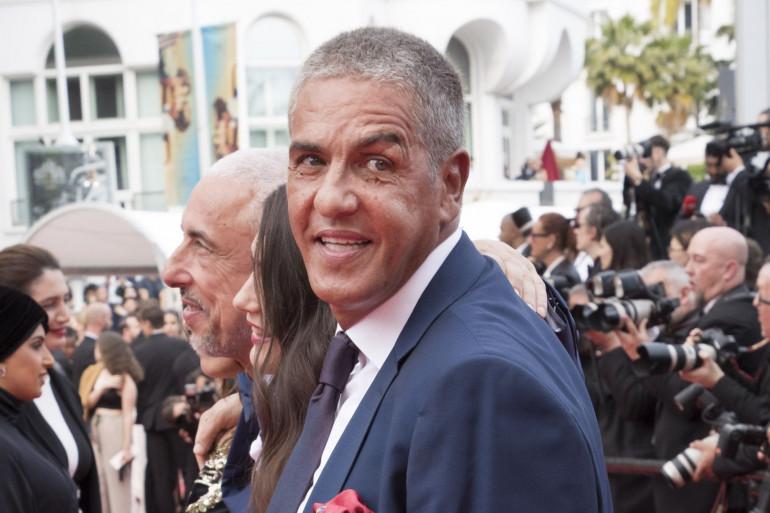 Samy Naceri, lors du festival de Cannes, le 18 mai 2018.