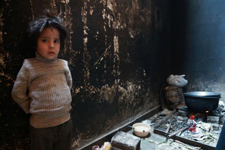 La petite Yasmine en novembre 2017, enlevée par son père parti faire le jihad