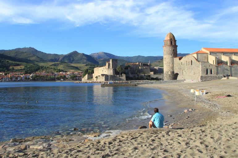 Le village de Collioure, dans les Pyrénées-Orientales, est en deuxième position.