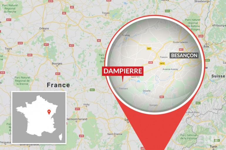 À Dampierre (Jura), une femme est soupçonnée d'avoir poignardé sa fille de 11 ans et blessé son autre fille.