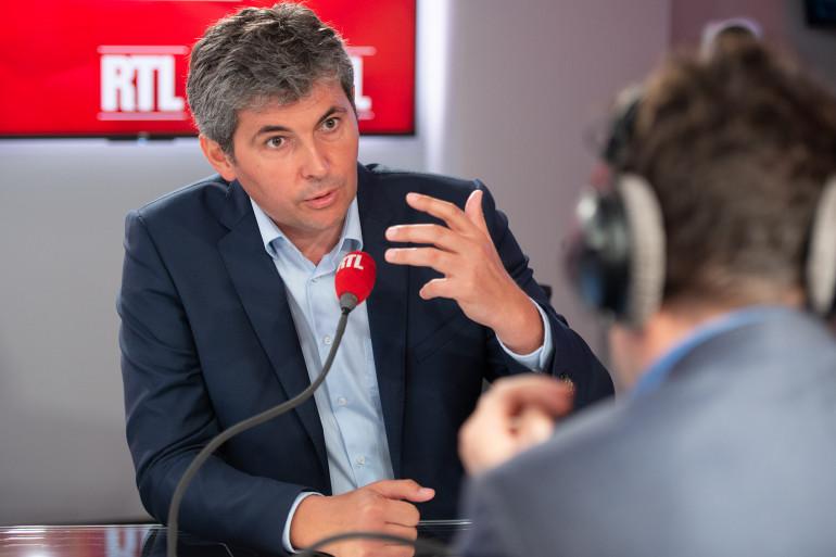 Gilles Platret, invité de RTL le 21 août 2018.