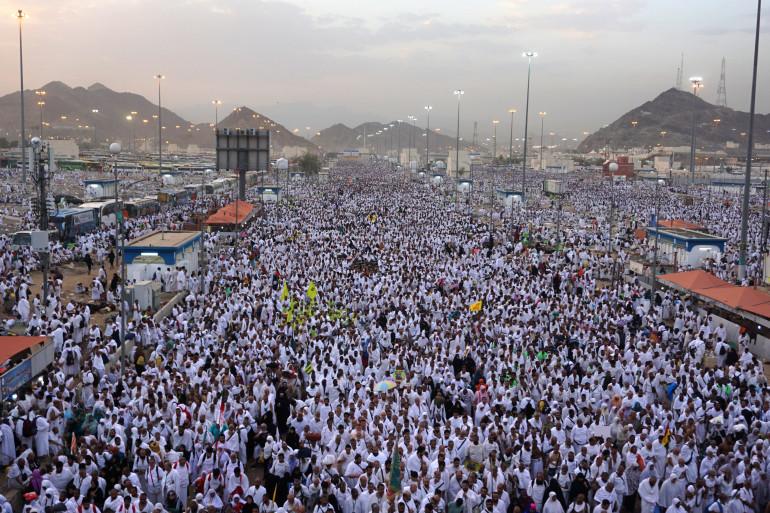 Des pèlerins à La Mecques, le 21 août 2018