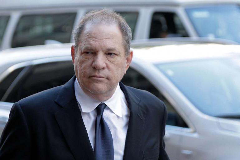 Le producteur déchu Harvey Weinstein à New York, le 9 juillet 2018