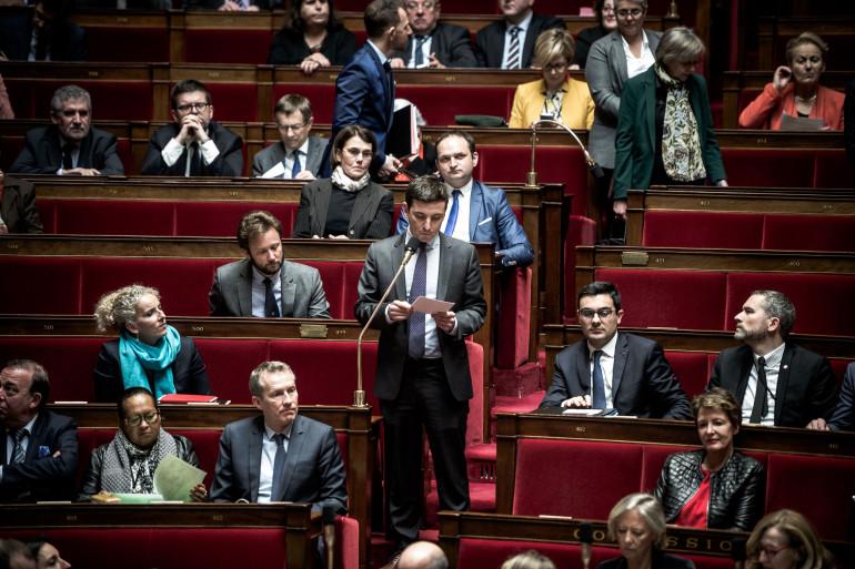 Aurélien Taché, à l'Assemblée nationale le 20 février 2018