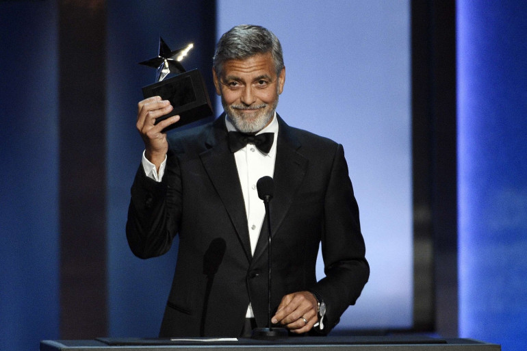 George Clooney est l'acteur le mieux payé en 2018, alors qu'il n'a joué dans aucun film