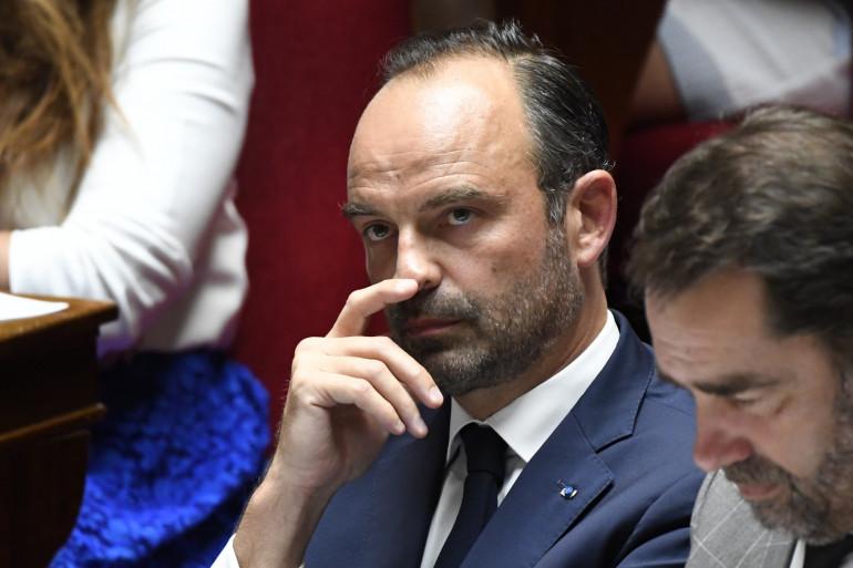 Le premier ministre Édouard Philippe à l'Assemblée nationale, le 24 juin 2018