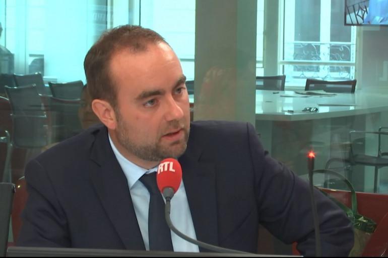 Sébastien Lecornu était l'invité de RTL le mardi 28 août 2018