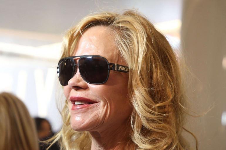 Melanie Griffith, le 10 mai 2018 à Los Angeles