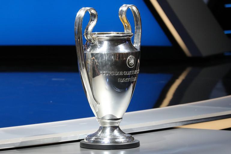 Le trophée de la Ligue des champions