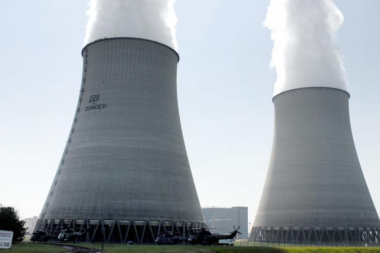 La centrale nucléaire de Belleville-sur-Loire (illustration)