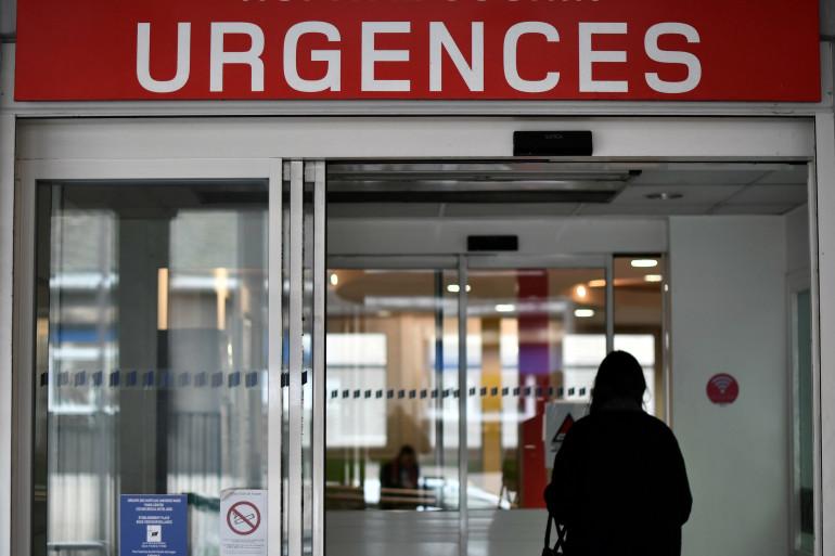 L'entrée des urgences d'un centre hospitalier (illustration)