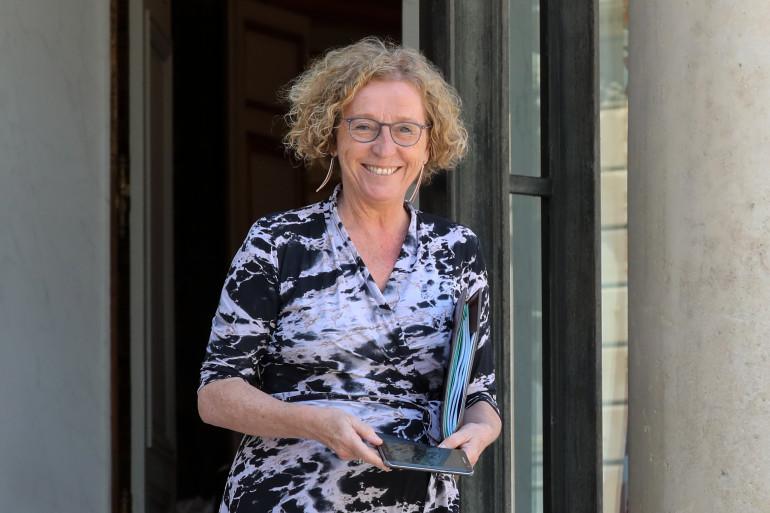 Muriel Pénicaud, ministre du Travail, à l'Élysée le 27 juin 2018.