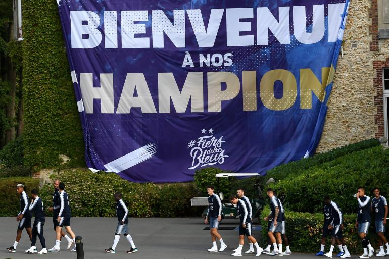 Les Bleus à Clairefontaine le 3 septembre 2018