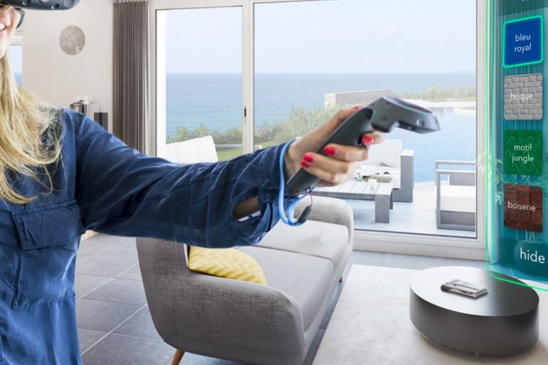 La star-up Perspectives permet d'aménager son futur logement grâce à la réalité virtuelle