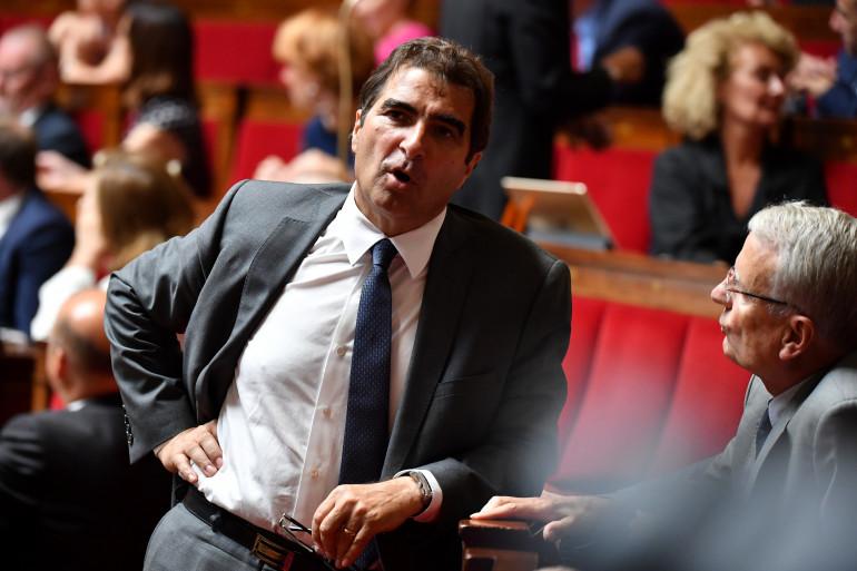 Le chef de file des Républicains à l'Assemblée nationale, Christian Jacob, le 1er août 2018.