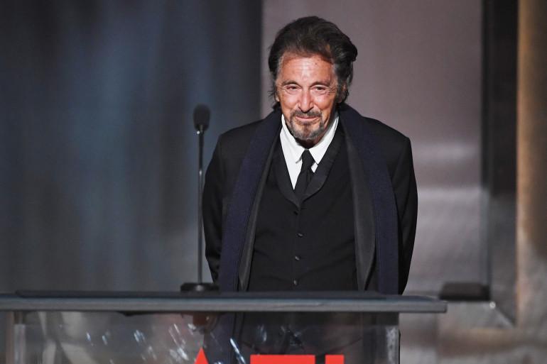 Al Pacino à Londres, le 8 juin 2017