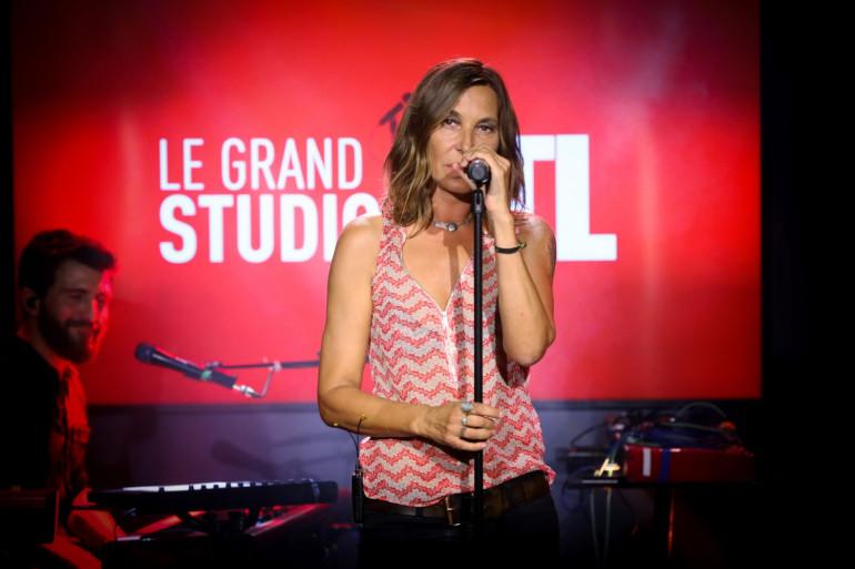 Zazie dans Le Grand Studio RTL