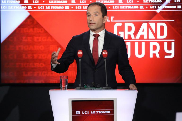 """Benoît Hamon est l'invité du """"Grand Jury"""" le 9 septembre 2018"""