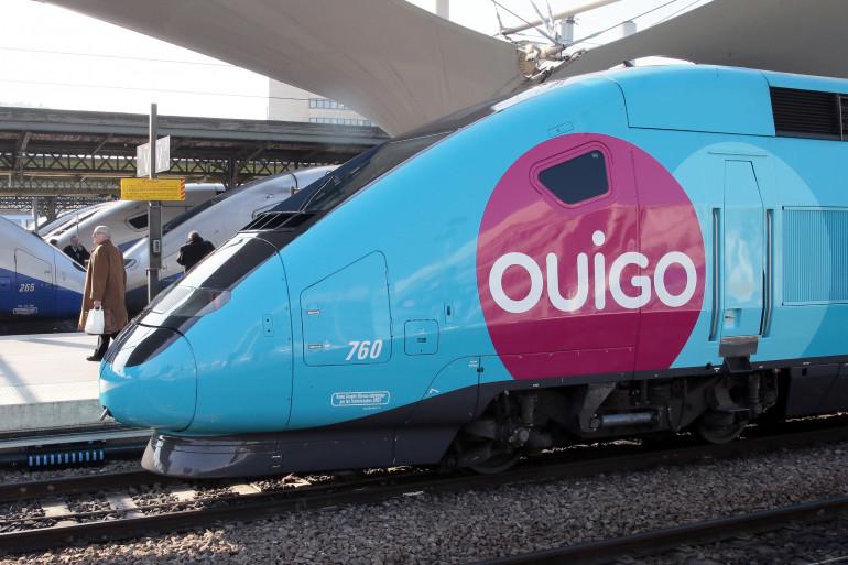 Un train Ouigo à Paris Gare de Lyon (illustration)