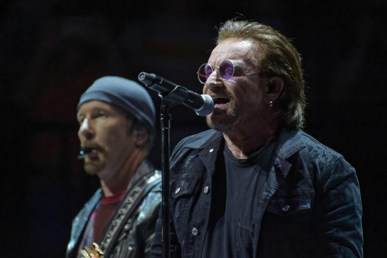 Le groupe U2 a offert une belle surprise dans une cantine associative de Paris