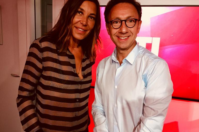 Zazie et Stéphane Bern