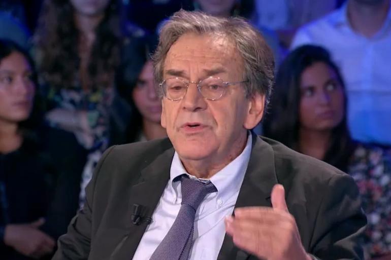 """Alain Finkielkraut sur le plateau d'""""On n'est pas couché, samedi 15 septembre 2018"""