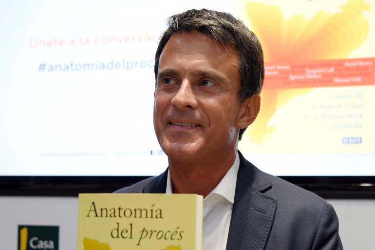 Manuel Valls, le 6 septembre 2018