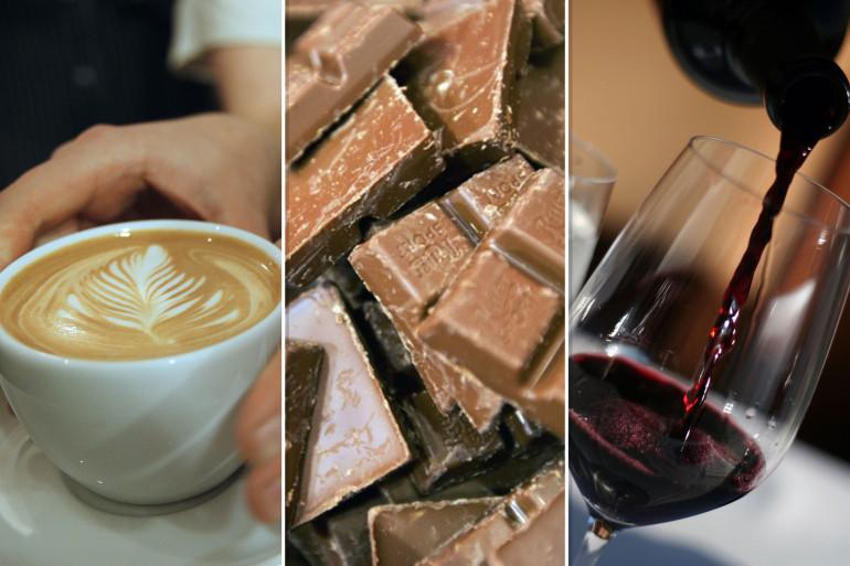 Un régime à base de café, chocolat et vin rouge permettrait de mourir moins jeune