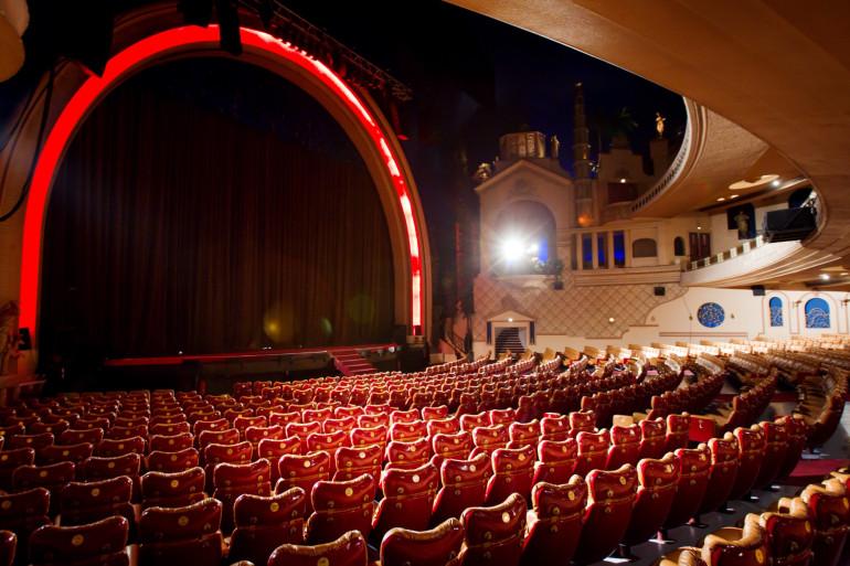 Le cinéma du Grand Rex, à Paris (Illustration)