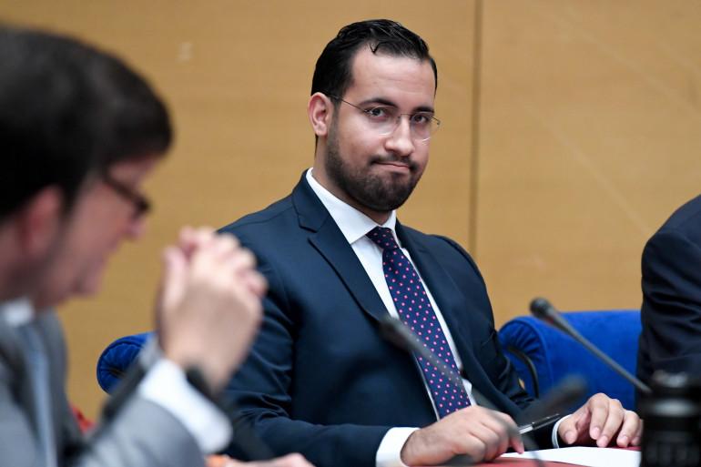 Alexandre Benalla lors de son audition par la commission d'enquête du Sénat le 19 septembre 2018