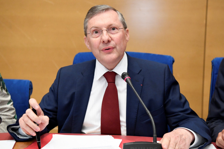 Philippe Bas, président de la commission des Lois au Sénat