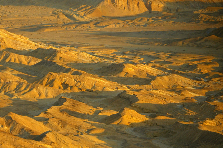 Le désert du Sinaï (image d'illustration)