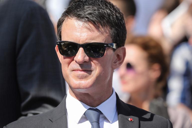 L'ex-premier ministre Manuel Valls le 1er juillet 2018 à Paris
