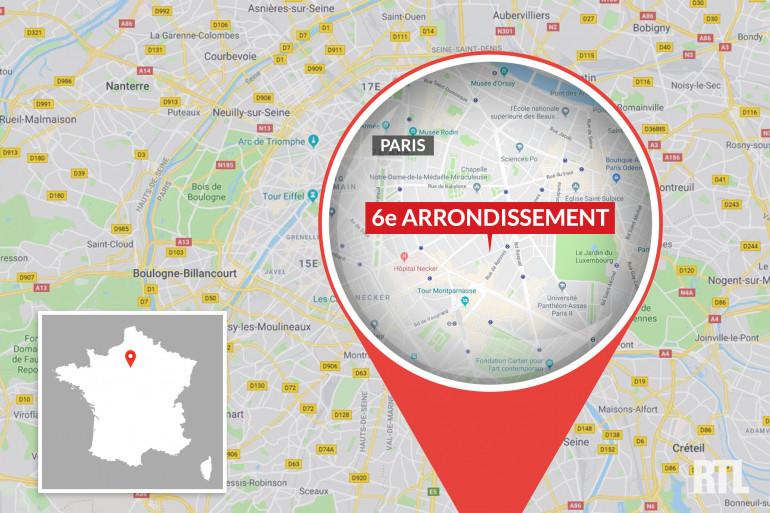 Le 6e arrondissement, à Paris