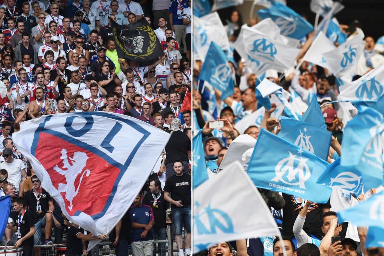 Entre les supporters lyonnais et marseillais, une rivalité de longue date