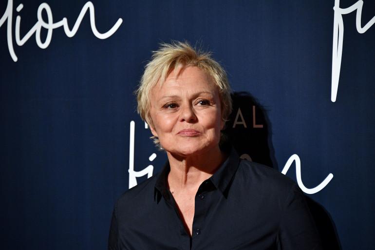 La comédienne Muriel Robin le 12 septembre 2018