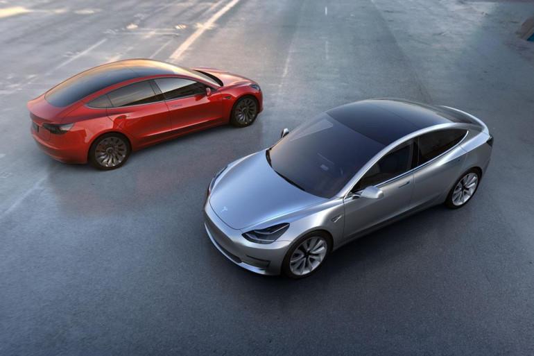 Deux Tesla Model 3 (Illustration)