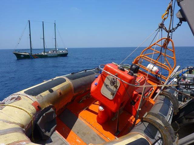 Un bateau de sauvetage (illustration)
