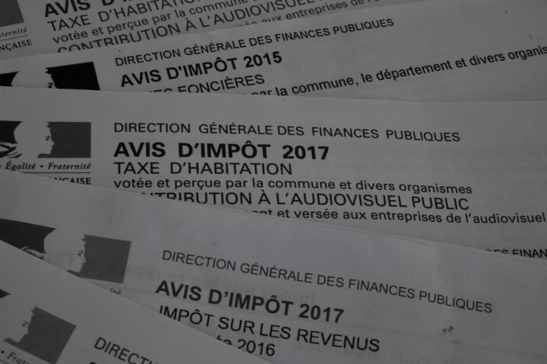 Des avis d'imposition de la taxe d'habitation (Illustration)