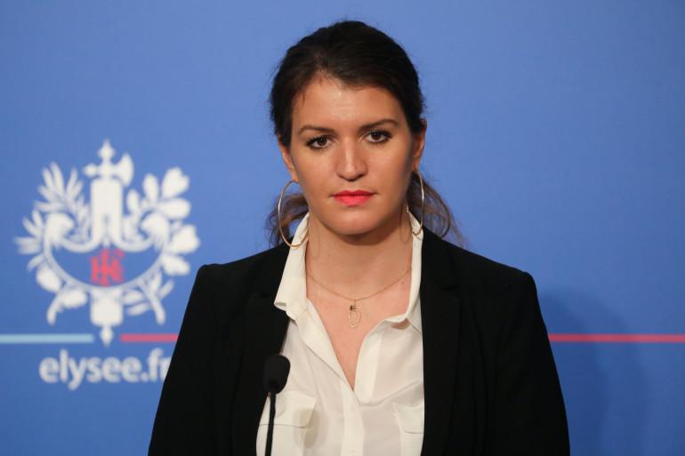 Marlène Schiappa, secrétaire d'État auprès du Premier Ministre, chargée de l'égalité entre les femmes et les hommes et de la lutte contre les discriminations, le 21 mars 2018.