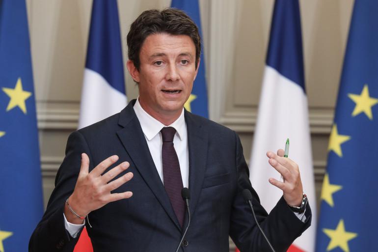 Benjamin Griveaux,  secrétaire d'État auprès du Premier Ministre et porte-parole du gouvernement ,le 5 septembre 2018