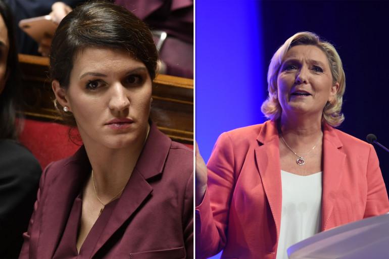 """""""Marine Le Pen est leader d'un parti raciste, d'extrême droite"""", déclare Marlène Schiappa"""